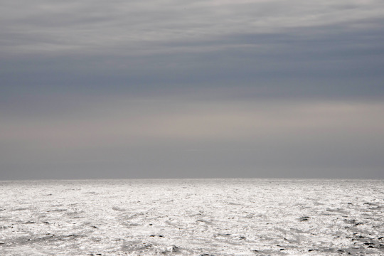 On the open water in the Barents Sea