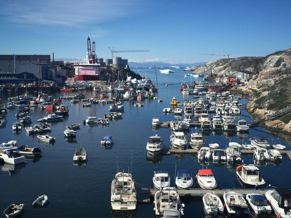 lulissat Harbor  Latitude: 69.22 degrees N Longitude: 51 degrees W