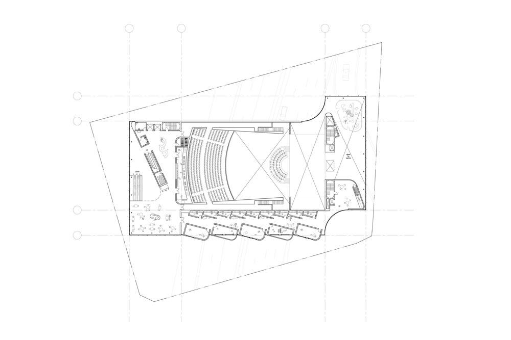 Level 4, Auditorium Balcony