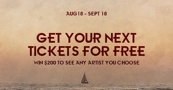One week left - win $200 to see any artist play live  LINK IN BIO - GO THERE AND ILL ALSO MARRY YOU  #newmusic #music #songs #artist #indiepop #pop #free #freestuff #freetickets #tickets #concert