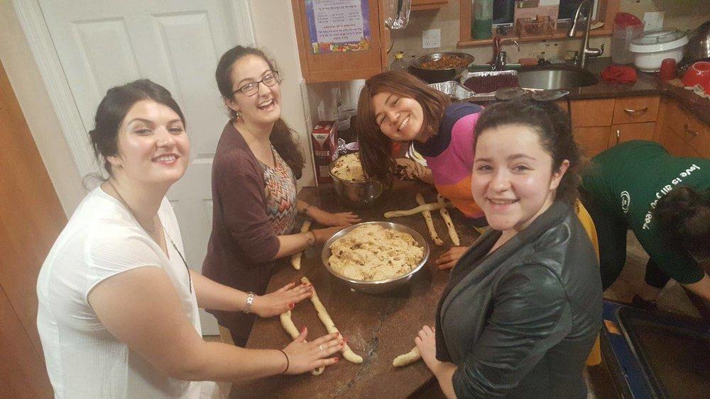 Making  Challah !