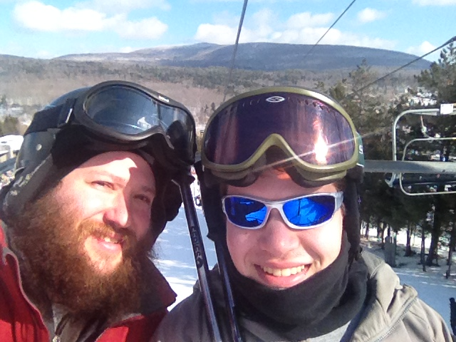 Can you out ski the Rabbi???