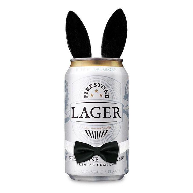 Oops, wrong bunny. #firestonelager #hoppyeaster