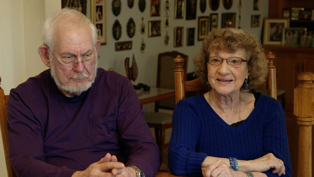 Sandy & Florene Bernstein , Bonnie's parents aka  Bubbe  &  Zayde