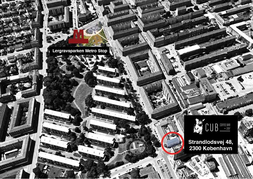 CUB Coffee Bar, Strandlodsvej 48, 2300 Copenhagen (click to see location in Google Maps)
