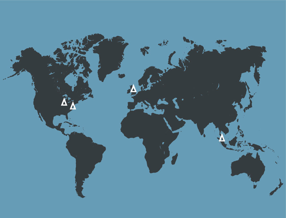 我们在美国,英国和马来西亚拥有制造基地,服务全球。