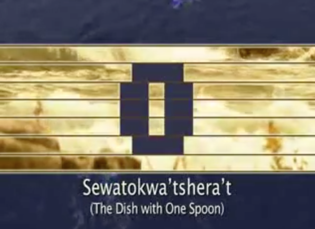 dish with one spoon
