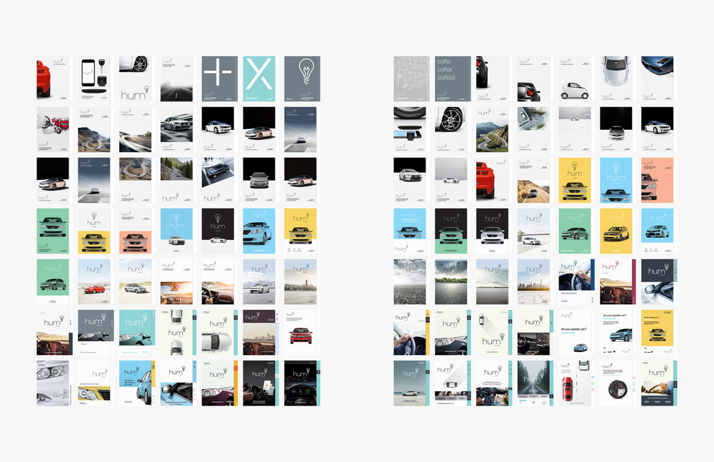 Almost 100 iterations of product packaging.