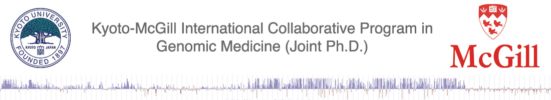 kyoto-McGill Internal Collabrative Program in Genomic Medicine