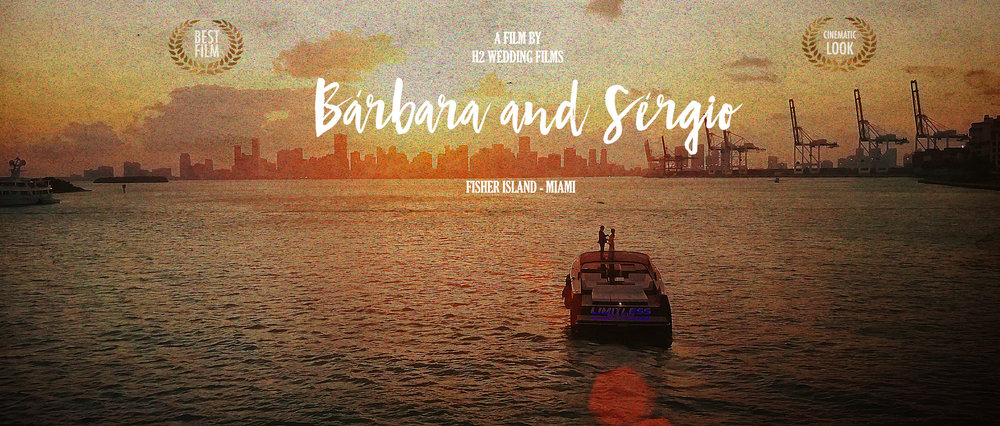 Fisher Island | MIAMI - THE WEDDING FILM FROM BARBARA BORNHAUSEN AND SERGIO CARRENO AT FISHER ISLAND RESORT IN MIAMI | FL