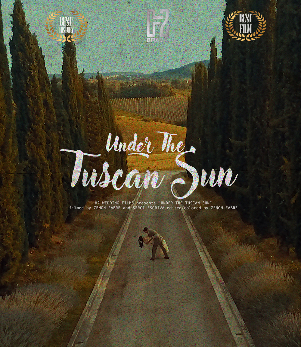 "Under the Tuscan Sun - fornecedores:H2 WEDDING FILMS presents ""UNDER THE TUSCAN SUN"" filmed by ZENON FABRE and SERGI ESCRIVA edited/colored by ZENON FABRE photography SIMONE LOBO wedding planner FERNANDA 