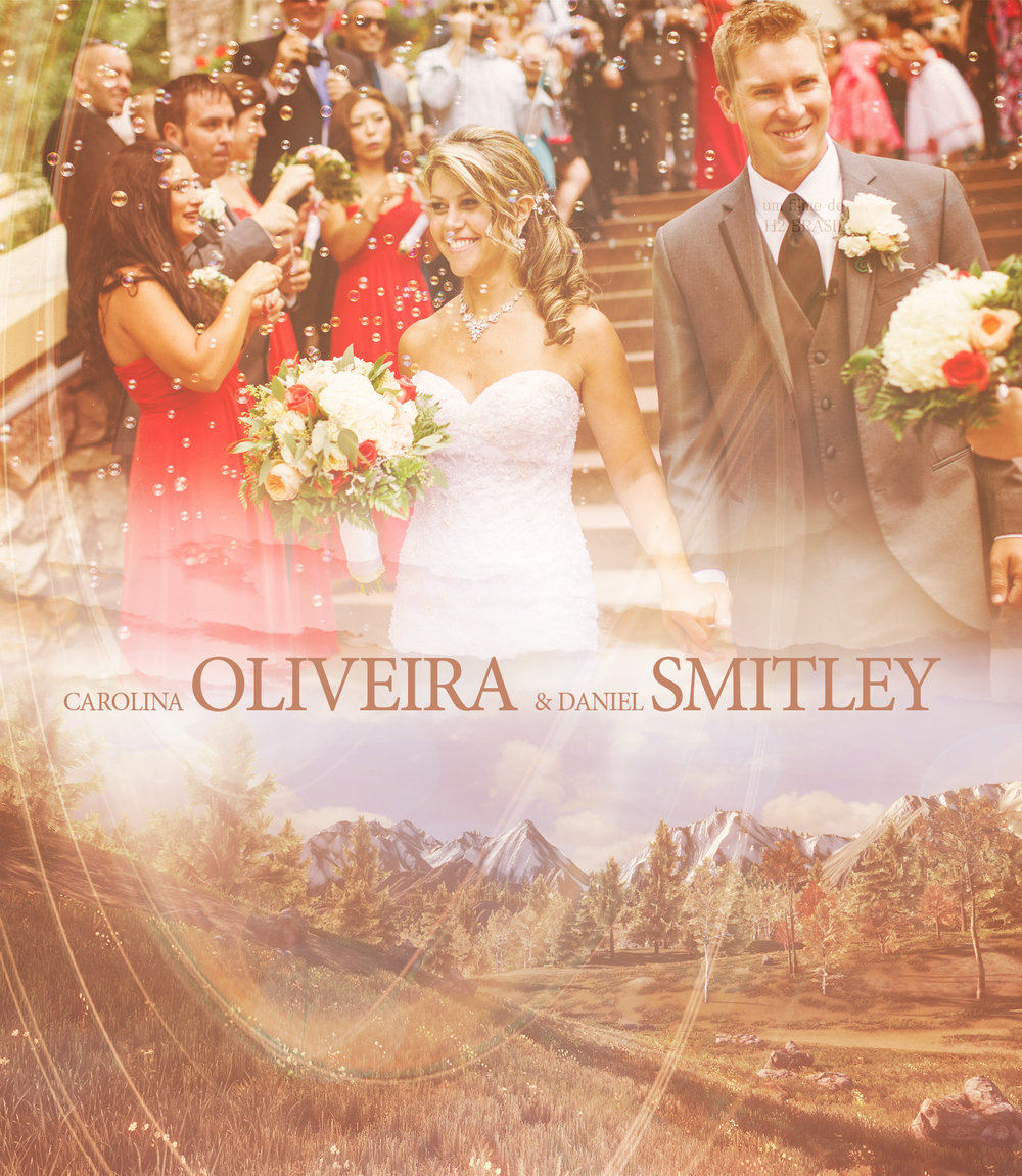 """Avon Colorado - H2 WEDDING FILMS presents CAROLINA OLIVEIRA and DANIEL SMITLEY in """"THE WEDDING FILM"""" cinematography by ZENON FABRE and ATANISA PAIVA photography by KELLY LEMON directed and edited by ZENON FABRE filmed on location at BEAVER CREAK - AVON - COLORADO - USA"""