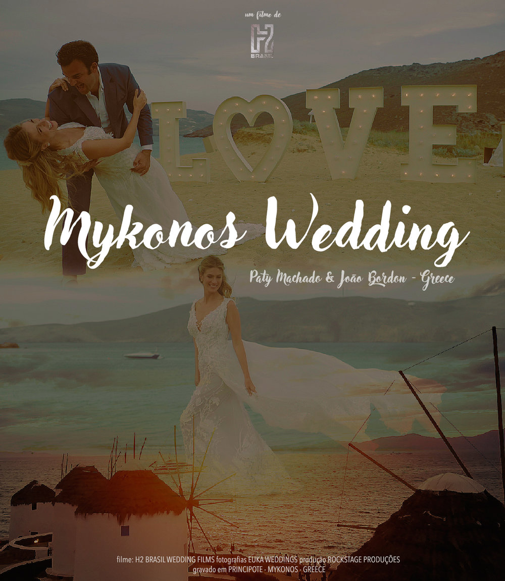 MYKONOS Wedding!Welcome,Love&Party! -