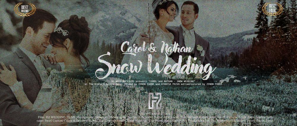 "The Rimrock | Banff - CA - H2 WEDDING FILMS presents ""CAROLINA SKEPIS and NATHAN JONES at The Rimrock Resort Hotel filmed by ZENON FABRE-ATANISA PAIVA"