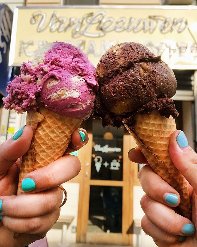 Got desert on our minds 🍦 📸: @vanleeuwenicecream