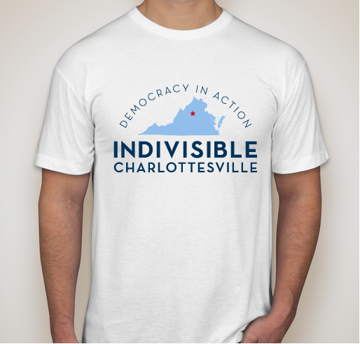 T-shirt Fundraiser! - Buy a shirt to help increase voter turnout & #FlipThe5th!All funds raised will be paid directly to Indivisible Charlottesville for voter outreach efforts to #FlipThe5th. Get yours today!