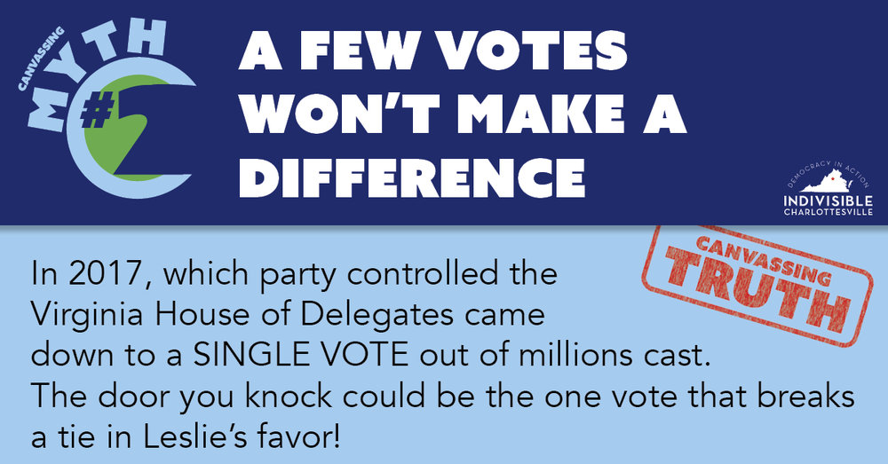 A few votes won't make a difference