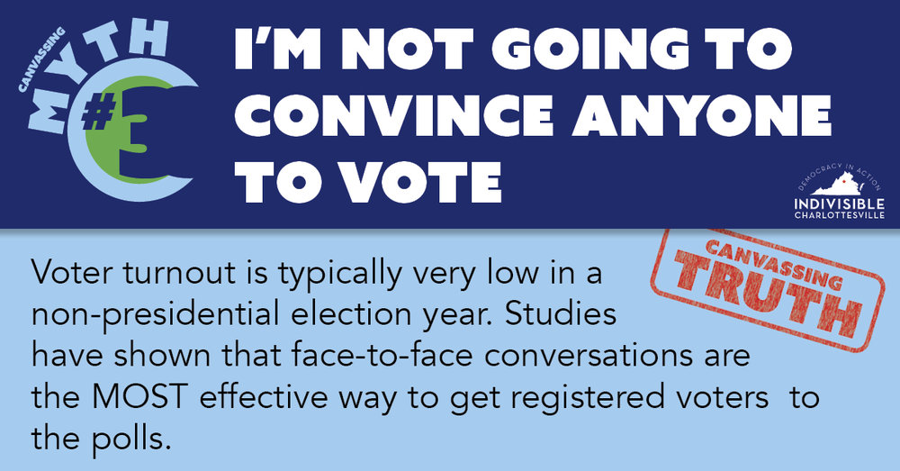 I'm not going to convince anyone to vote
