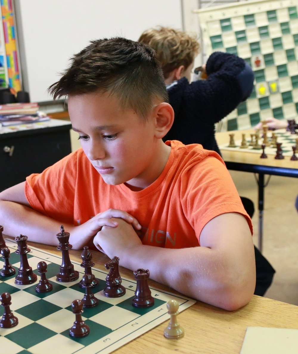 6th-8th Grade Chess - Are you ready for competitive, battle royale chess playing? Both novice and advanced chess players will have a blast outwitting their opponents across the chess board in this fun and challenging week-long session. Under the tutelage of master chess player, Nibaldo Calvo Buides, campers will learn sophisticated strategies used for both one-on-one matches and competitive rounds involving multiple chess players.WEEK: June 10-14TIME: 9:00am-12:00pmCOST: $140/weekGRADES: 6th-8th