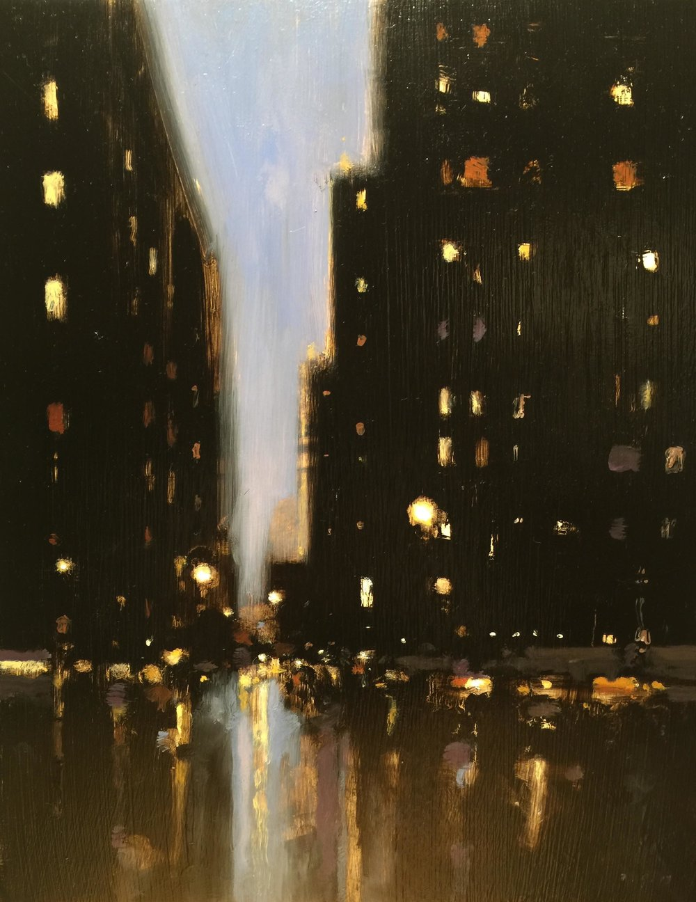 Buildings at Night IV, 2017