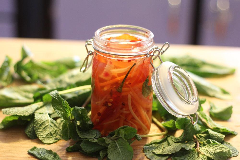 Pickled Vegetables -