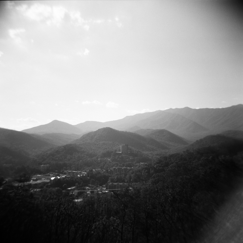 Holga with 120mm Kodak Tri-max 400