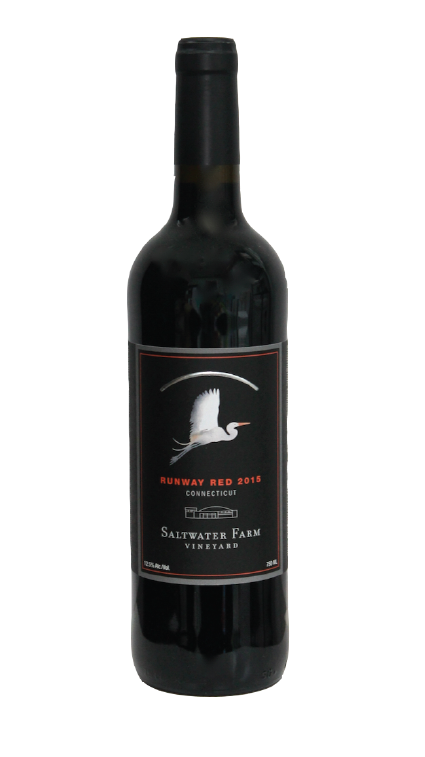 the newest edition to our wine portfolio. this young red wine is ready to enjoy now or let age for several years. a blend of red varieties grown on property with grapes from the north fork of long island. bright and juicy, it displays notes of red fruit and berries. aged in french oak. - 2015 runway red