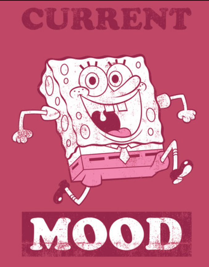 SpongeBob is full of optimism, imagination, and pretty much everything wonderful in the world. -