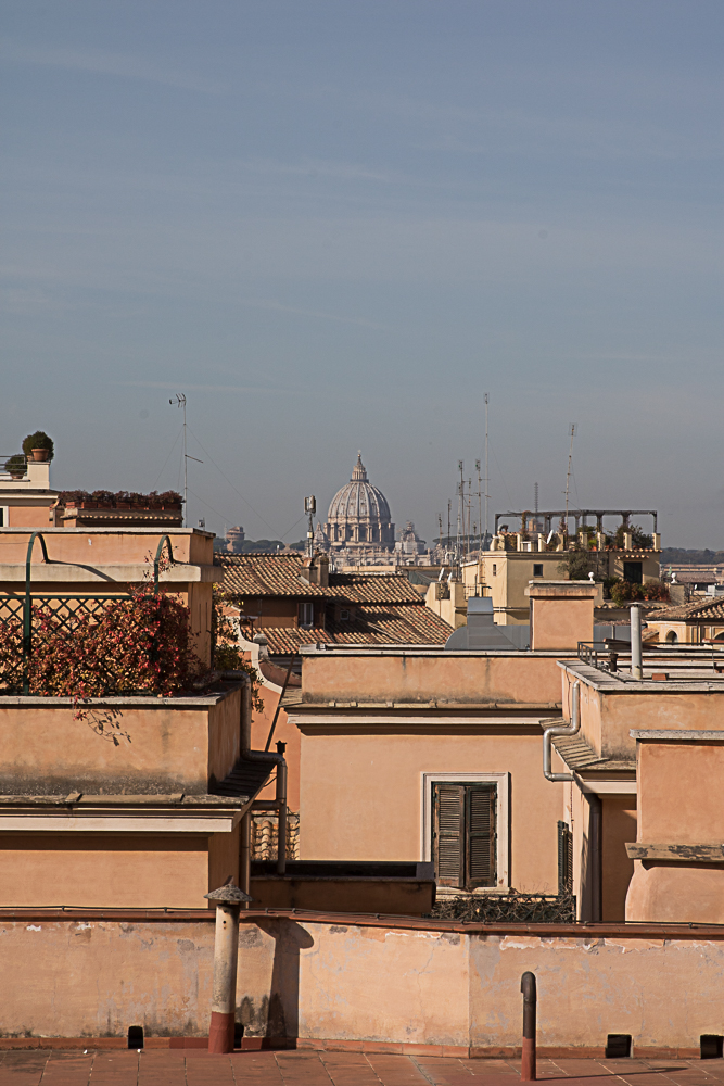 Roof tops of Rome