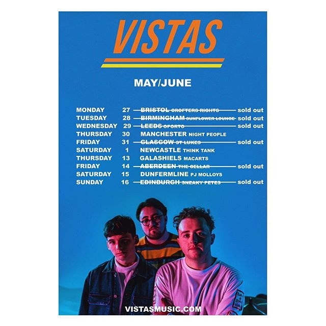 bristol SOLD OUT ❌ ~ very few tickets remaining for manchester and newcastle ~ tickets available at vistasmusic.com 🗣