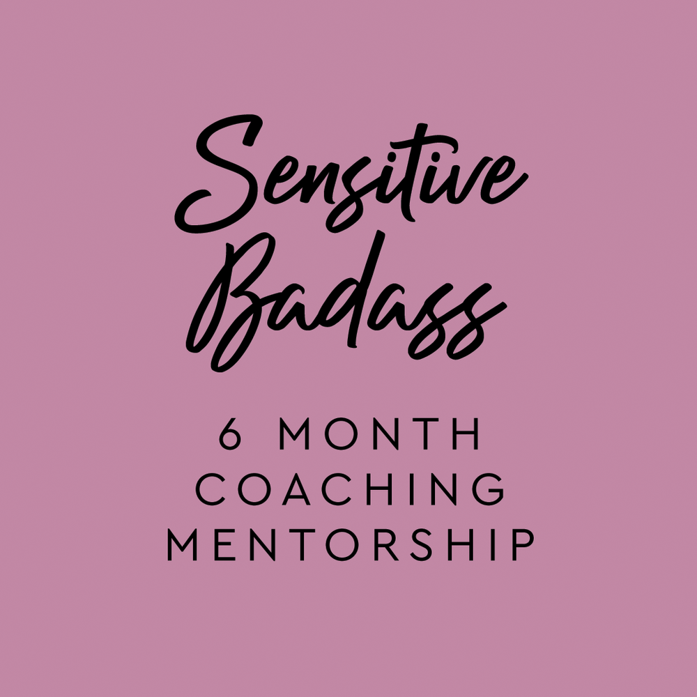 My Signature 6 Month Coaching Mentorship - powerful transformation with individual and group support