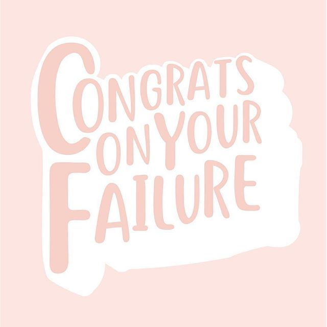 If you've never failed at anything you've never tried anything that's worthwhile. Embrace the lessons that come with failure. #bsbsisterhood 📸 @workparty