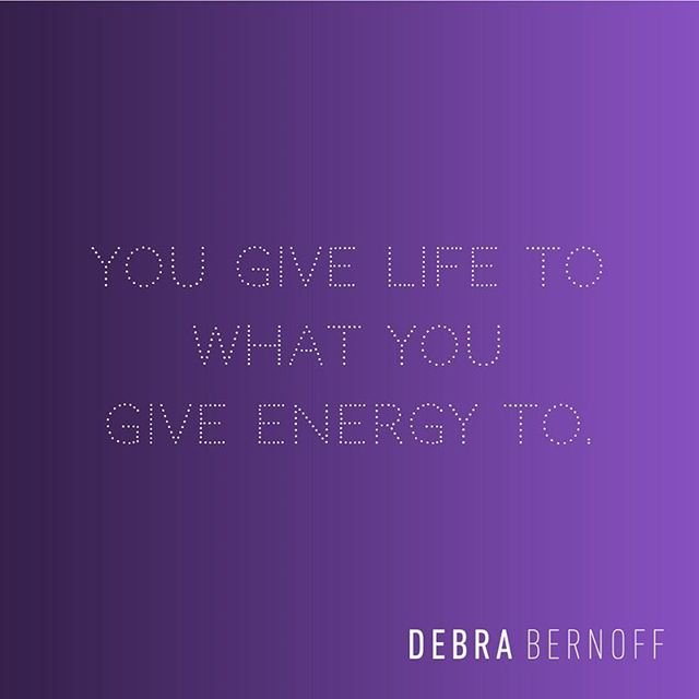 What are you giving your energy to? #bsbsisterhood