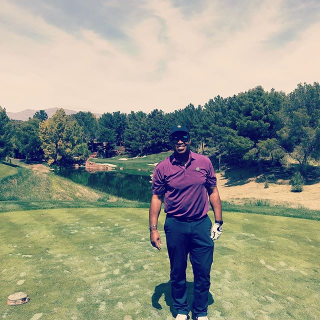 Throwback to a beautiful day at Shadow Creek Golf Course in Las Vegas! #TBT #golf #lasvegas