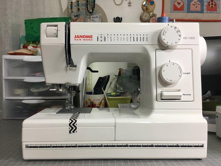 Machine Reviews: Janome 1600P & Janome HD-1000 — elisabew quilts