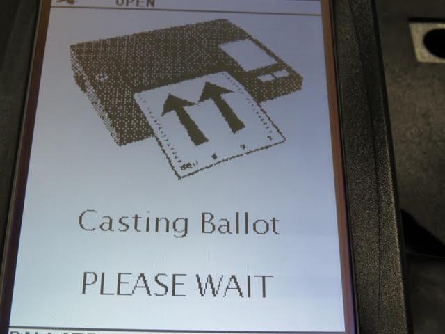 11. Reading your ballot!!!
