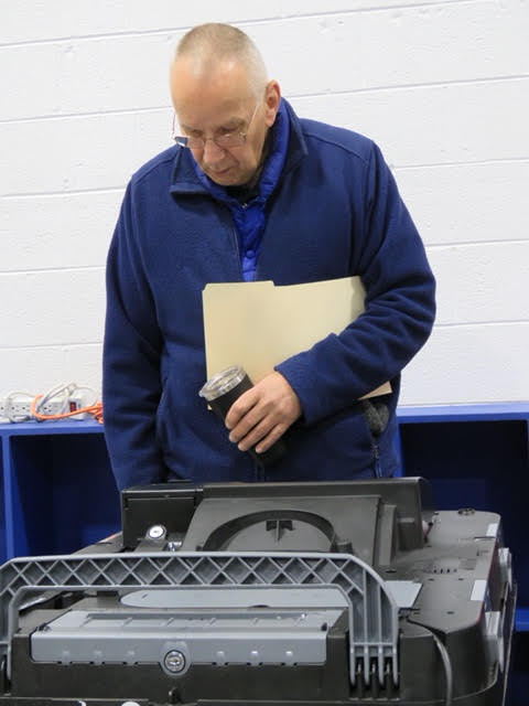 """12. Wait until your ballot says, System Ready... """" before you leave."""