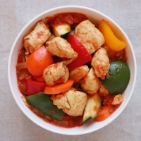 boneless African chicken stew