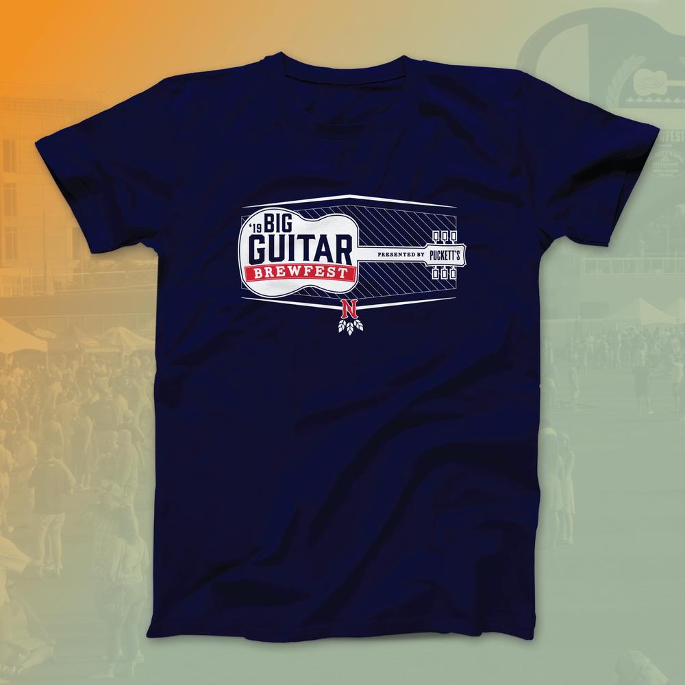 Big Guitar Brewfest 2019 VIP T-Shirt
