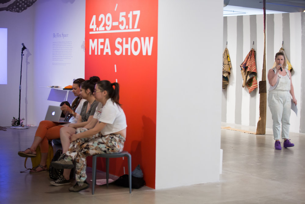 MFA Show 2017the School of the art institute of chicagoCuratorial team led by Daniel Fuller -
