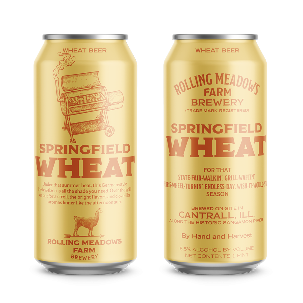 springfield wheat - Hefeweizen Wheat Beer5.2% ABVThis hefeweizen-style wheat is great for quenching a thirst in the heat. The natural notes of banana and clove ensure every quaff is smooth and refreshing.