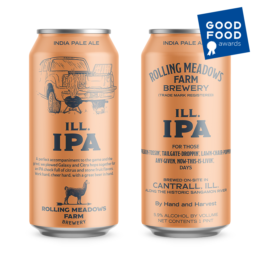 ILL. iPA - India Pale Ale5.9% ABVA perfect accompaniment to the game and the grind. This GOOD FOOD Award IPA formula is plowed with Galaxy and Citra hops, giving it a chock full of citrus and stone fruit flavors.
