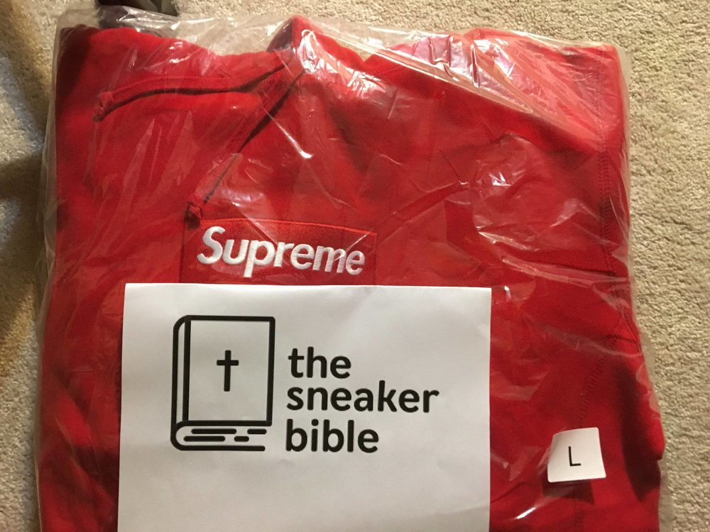 TheSneakerBible Success - Supreme