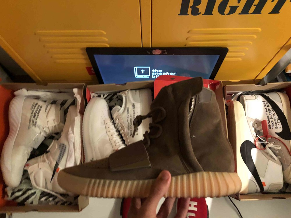 TheSneakerBible Success - Yeezy and Off White