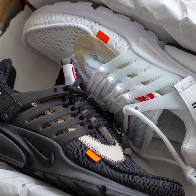 Two of a kind . . . #nike #offwhite #presto #theten #virgilabloh #resellercommunity #complex