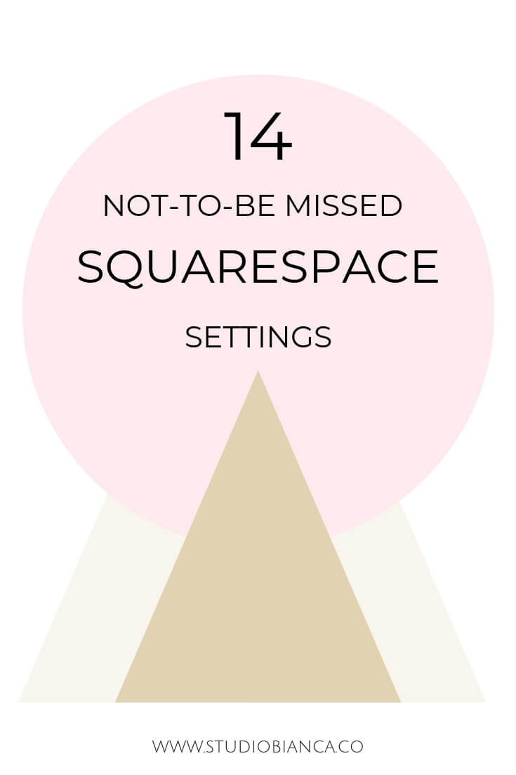 Creative entrepreneurs and small business owners, ready to launch your squarespace site? Learn more about the settings Squarespace offers its users to make their site run better, be GDPR compliant, and more. Click to go through this Squarespace launch checklist!
