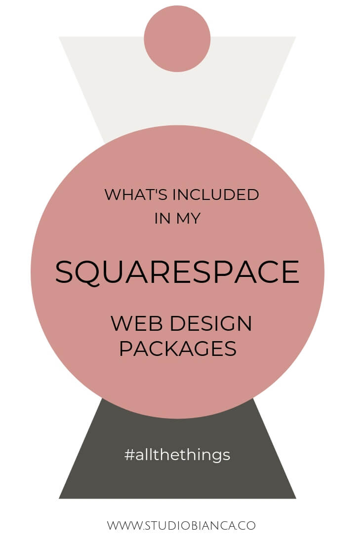 What S Included In My Squarespace Web Design Packages Studio Bianca