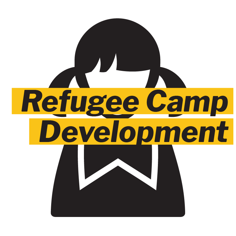We help to develop and fund school programs for children temporarily living in refugee camps.