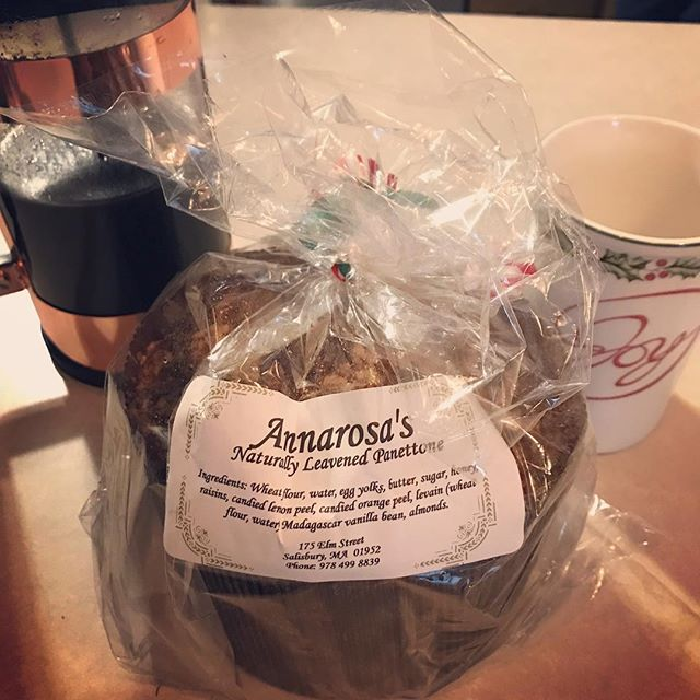 Love getting yummy holiday surprises in the mail from one of my favorite clients! If you haven't had Annarosa's Panettone you need to go to Salisbury right now and get one! www.annarosas.com #hatchyourprojects #websitedesign #bakery