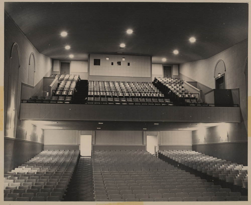 New Auditorium, 1950